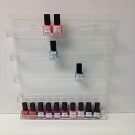 Nail Polish Rack Wall Mounted