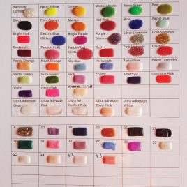 ACRYLIC COLOURS DESIGNER RANGE (Email for Colour Chart) 4g