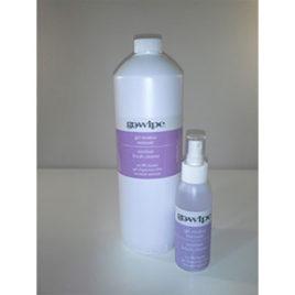 Go Wipe 3in1 residue remover, sanitiser, brush cleaner