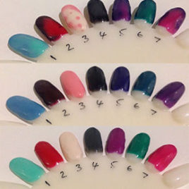 Joyfull Gel Polish Colour Changer 18ml <br />( Colour changes with temperature please email for a colour chart )<br />