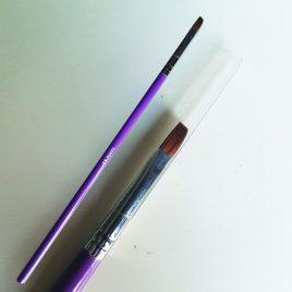 Gel Brush Sable 4f