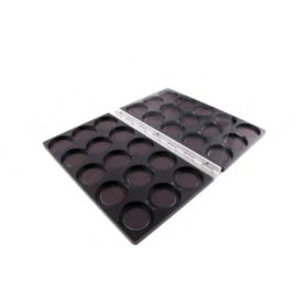 30-hole Aluminium packing magnetised 36mm (empty)