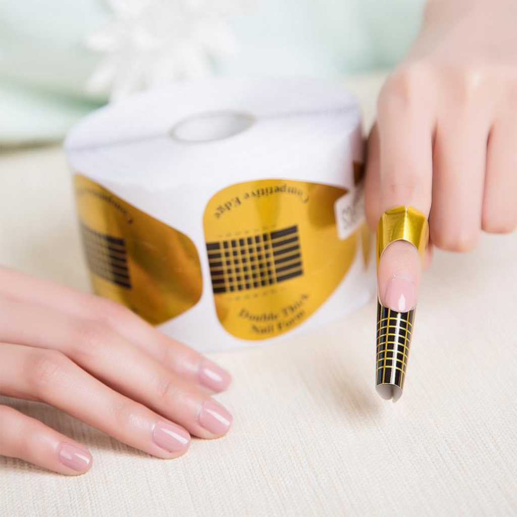 Double Thick Nail Forms Roll - Designer Nail and Beauty
