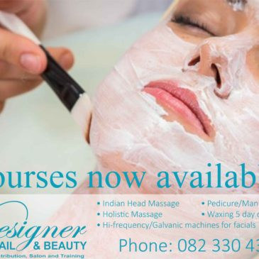Amazing Courses now available at Designer Nail and Beauty!
