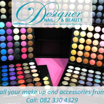 Get all your make up and accessories from Designer Nail and Beauty!