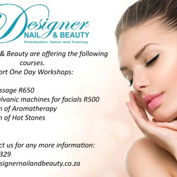Courses available at Designer Nail and Beauty
