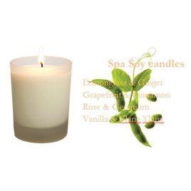 Soy Massage CandleLifting (Rose& Geranium) 250g