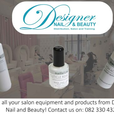 Get all your salon equipment and products from Designer Nail and Beauty!