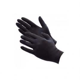 Nitrile Black Gloves (100)