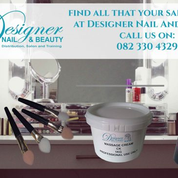 From massage creams to sealants and solvents, find all your salon needs at Designer Nail And Beauty.