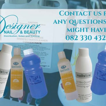 Get all your sanitizers from a supplier that understands what you need, at Designer Nail and Beauty we focus on what our client's needs are and strive to provide them with the highest grade of products.