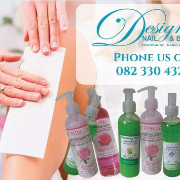 Wax Pre / Post Depilation sprays and creams available from Designer Nail and Beauty.