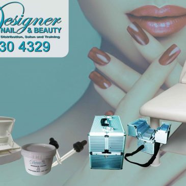 Designer Nail and Beauty distribute a wide range of beauty products.