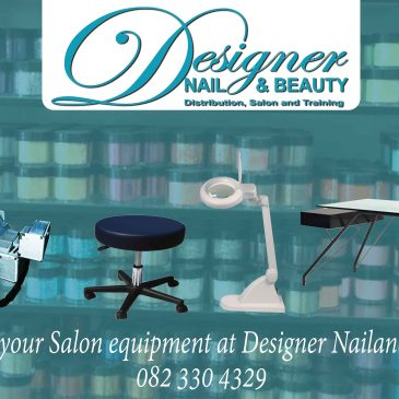 Find all your Salon equipment at Designer Nail And Beauty.