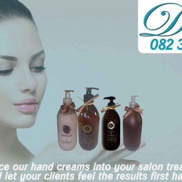 Introduce our hand creams into your salon treatments and let your clients feel the results first hand!