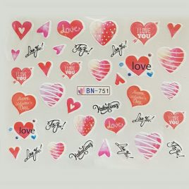Decal Hearts R35