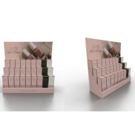 Lola Lee Nail Polish/ Gel Polish Stand (Card Board- capacity for up to 27 bottles)